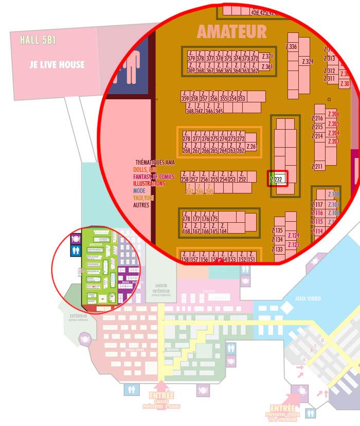 Expérience Salon /conventions Planjapan